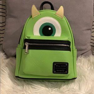 Disney x Loungefly Mike Wazowski Mini Backpack